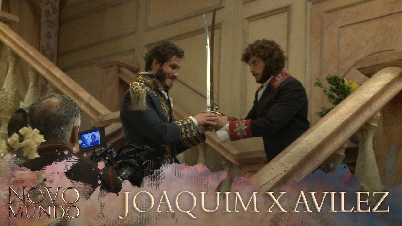 Luta entre Joaquim e Avilez
