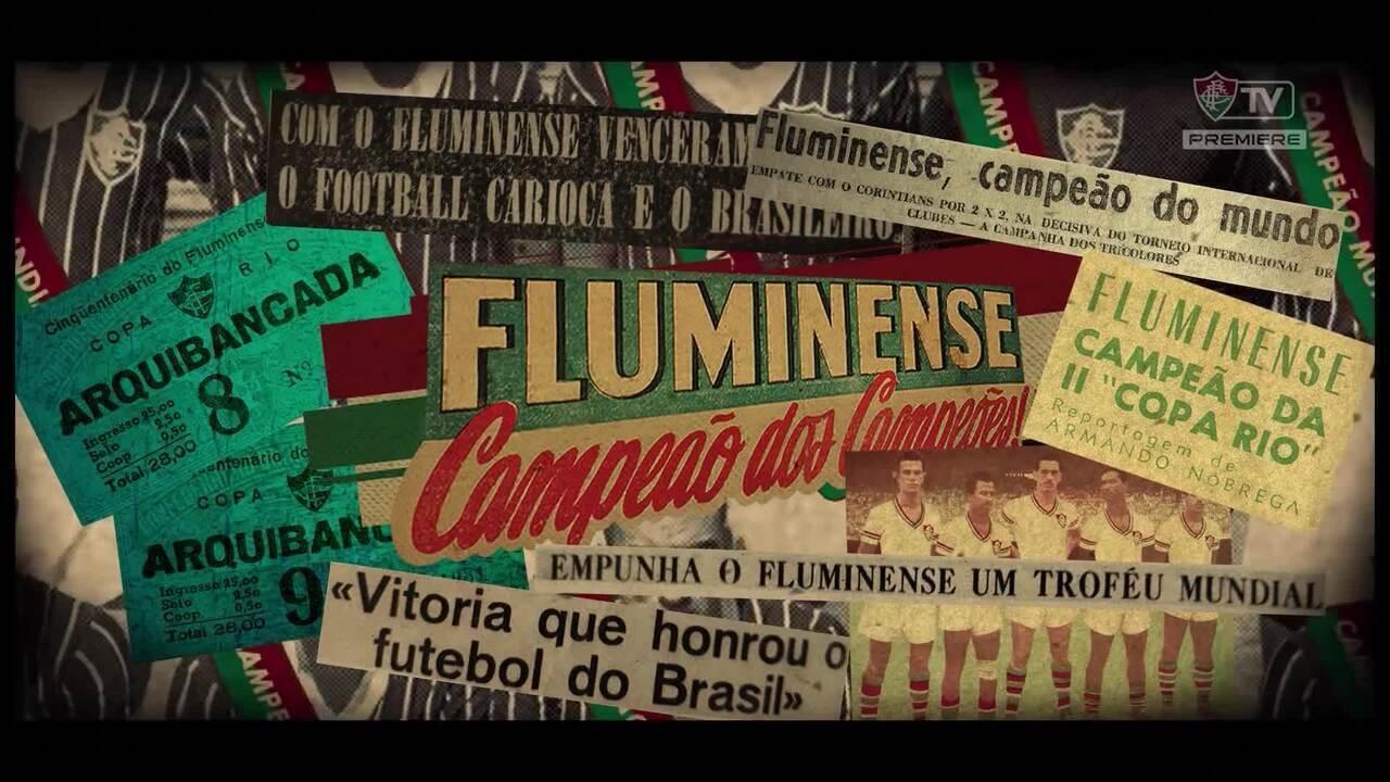 Fluminense lançou clipe para comemorar a conquista do Mundial de 1952