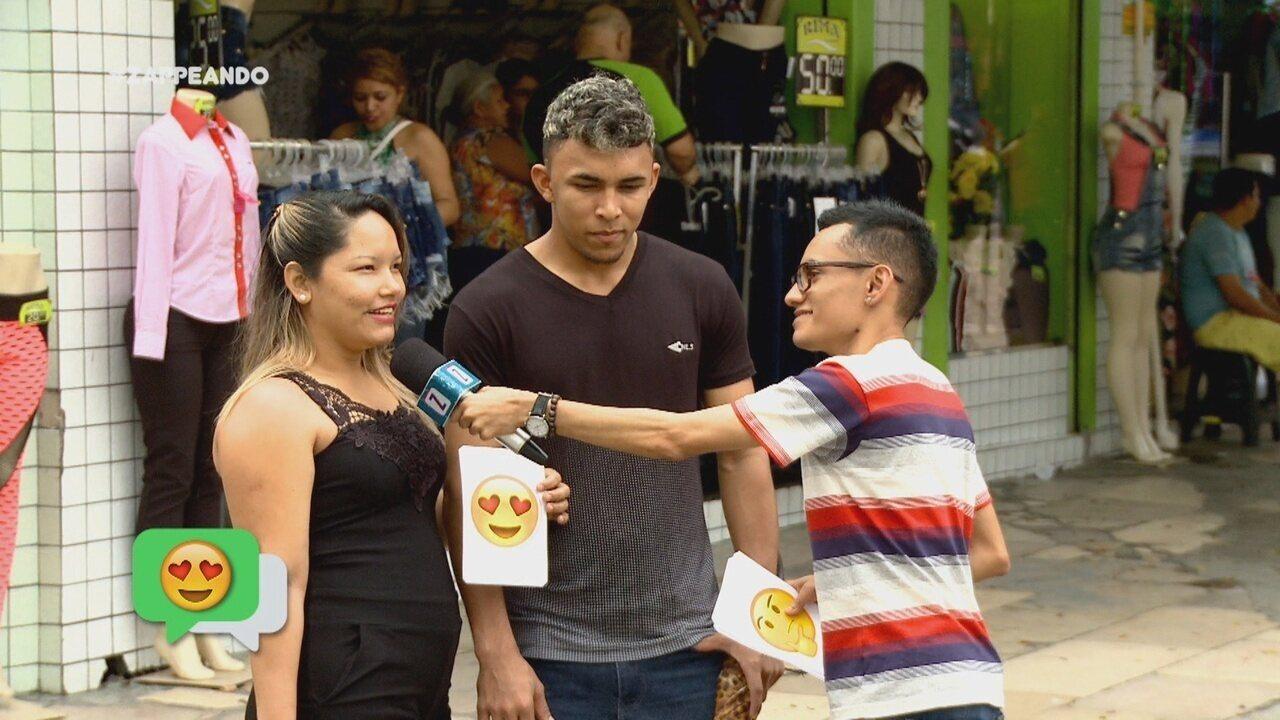 #Zapp: Diego Araújo quer saber quais os emojis mais usados em Manaus