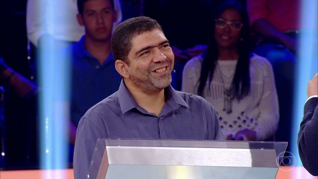 Veja como foi o rendimento de Edivanio do Nascimento nas quatro primeiras perguntas do 'Quem Quer Ser Um Milionário?'