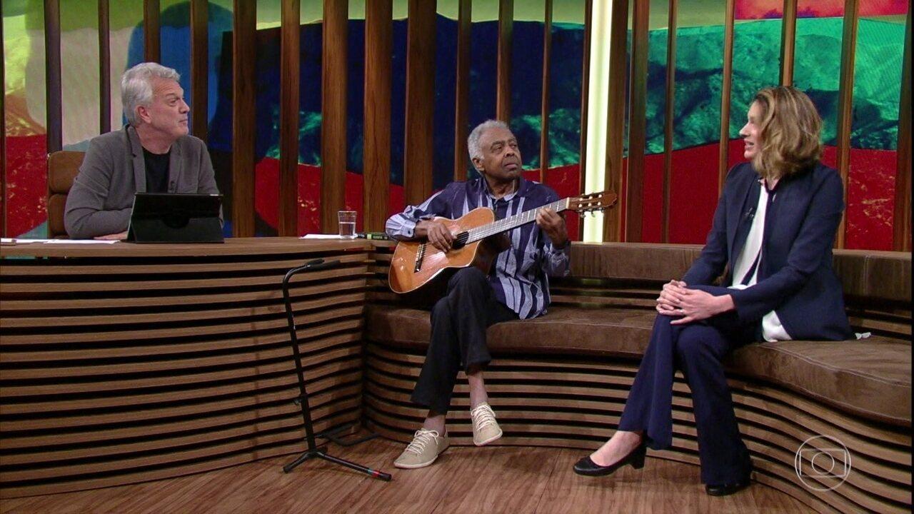Camila Appel se junta a Gilberto Gil e Pedro Bial para falar sobre a morte