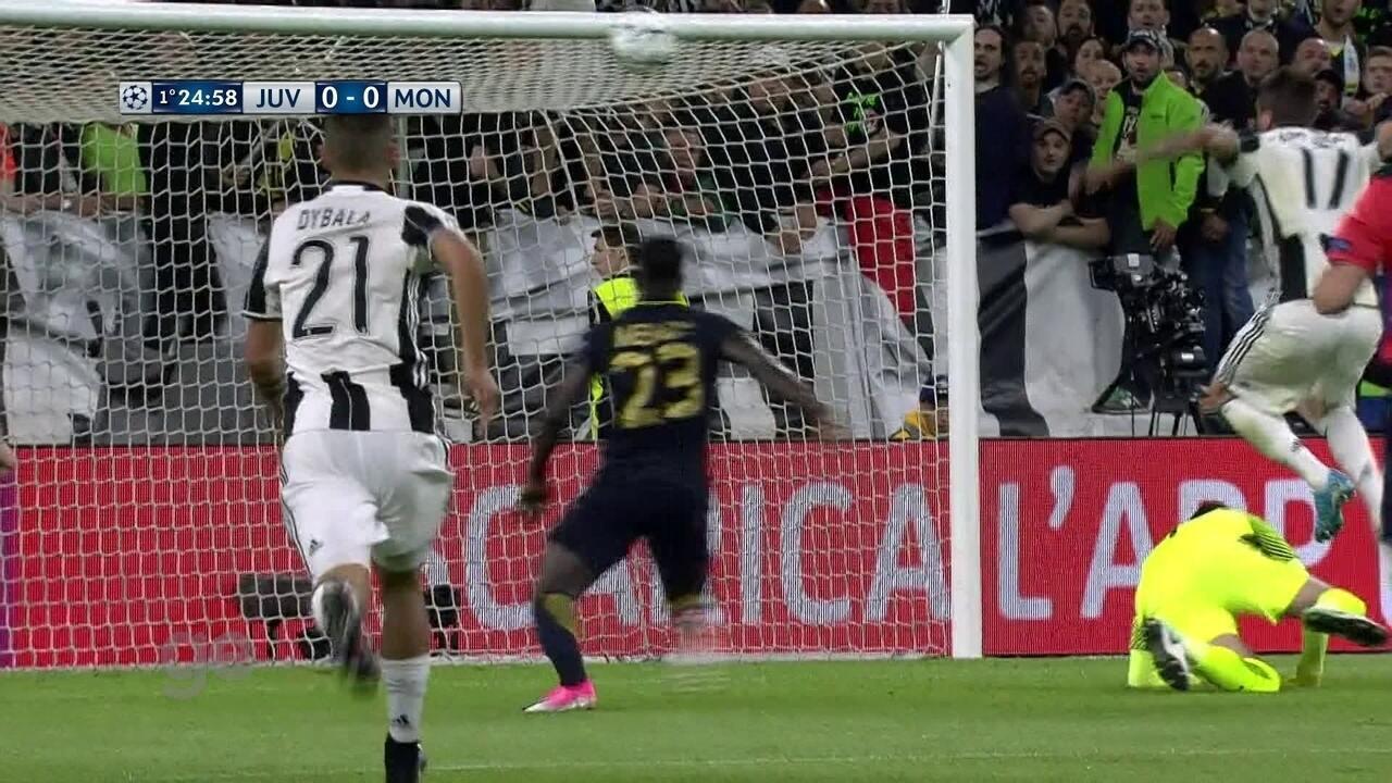 Melhores momentos de Juventus 2 x 1 Monaco pela semifinal da Liga dos Campeões