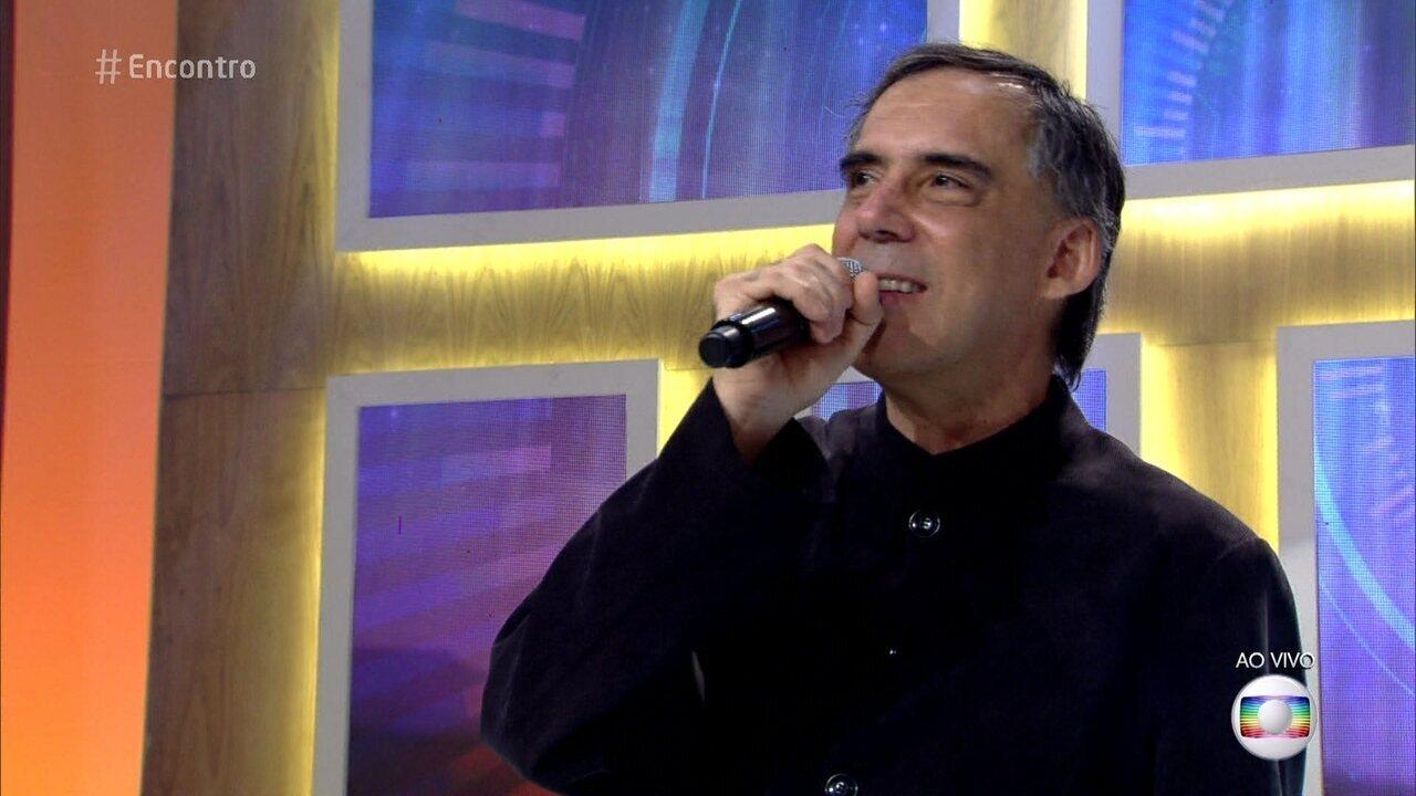 Cantou e encantou a todos com sua música, dentre elas a 'Saiba'