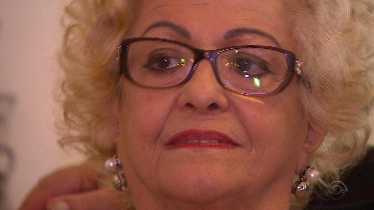 Conheça a dona Marlene, mãe da