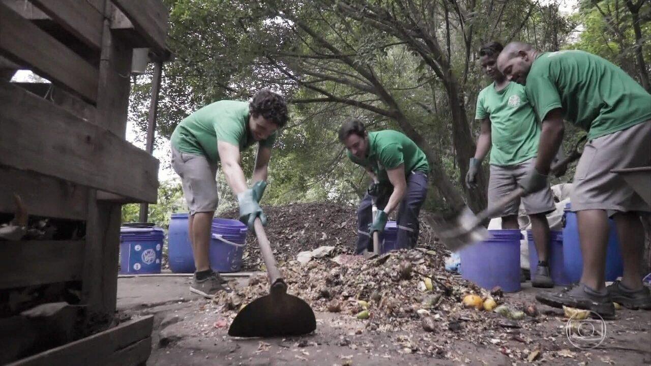 Ricardo Tozzi conhece os processos da compostagem