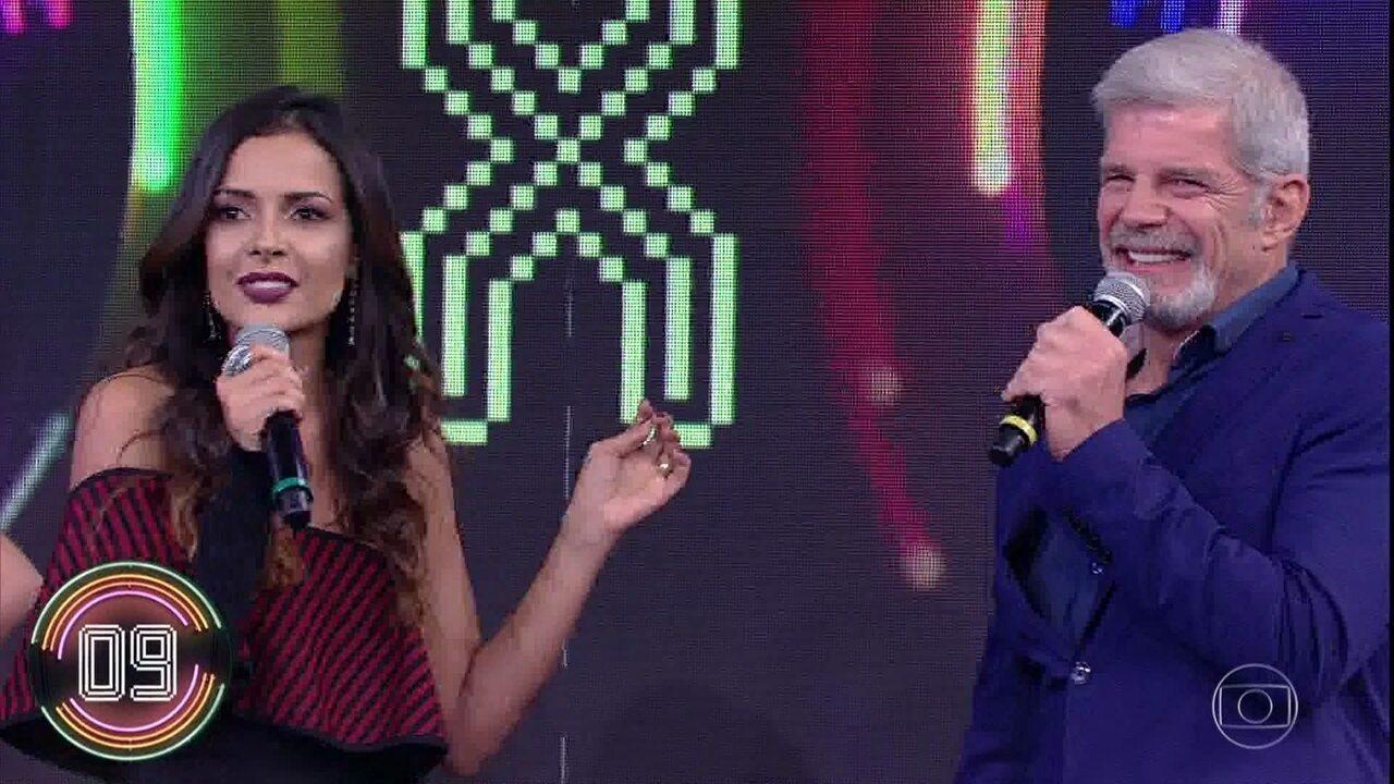 Michelle Martins e Raul Gazolla pontuam no 'Ding Dong'