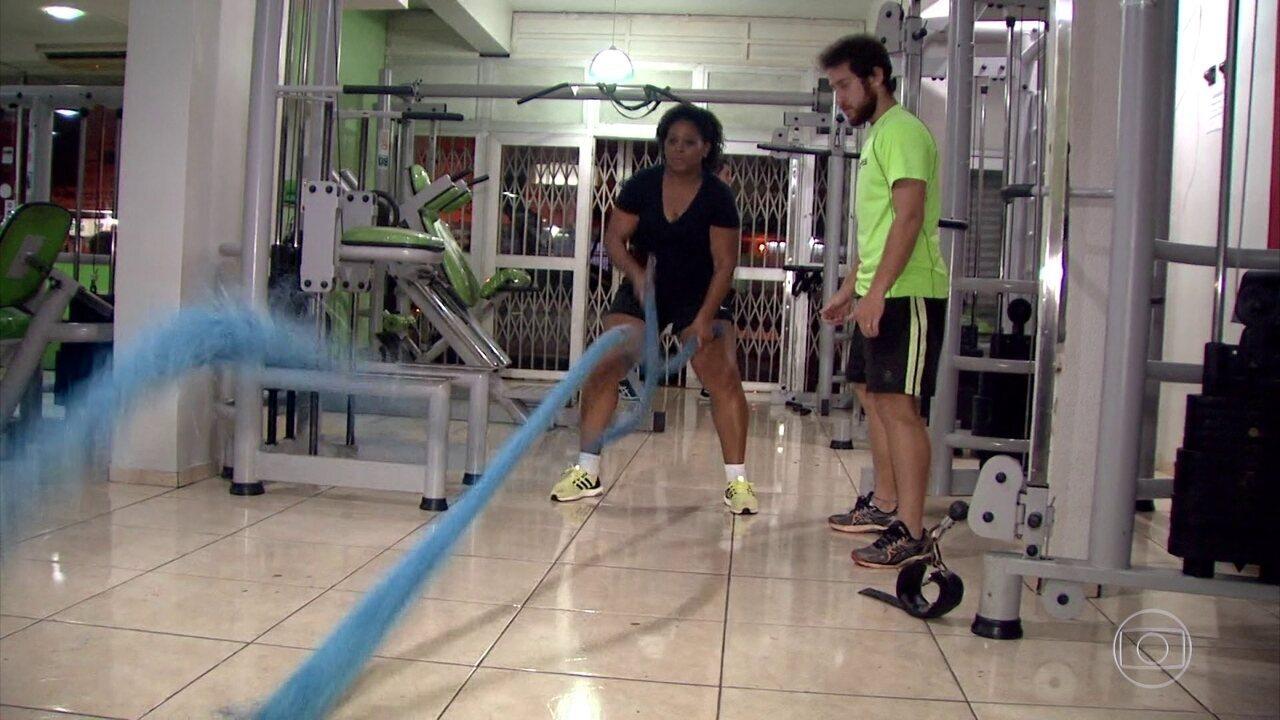 Participantes do Bem Verão escorregam no projeto mas retomam exercícios