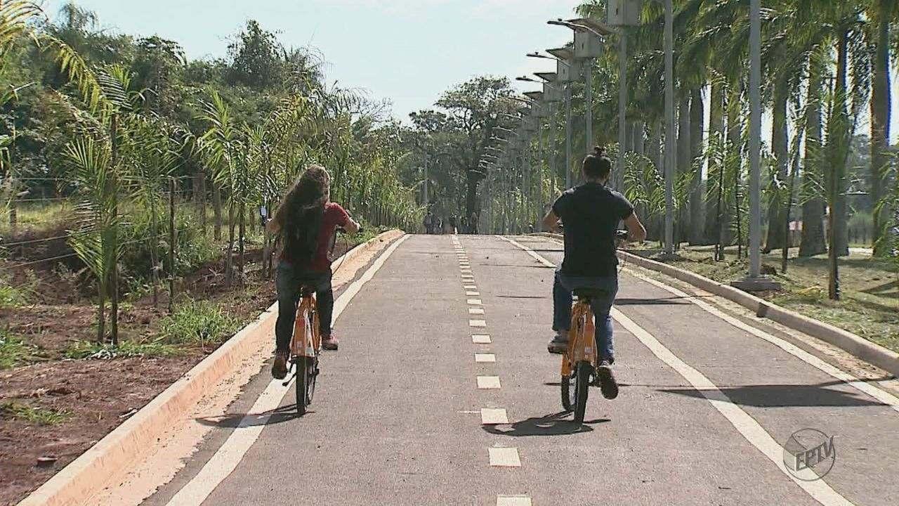 USP de Pirassununga disponibiliza bicicletas para alunos, professores e funcionários