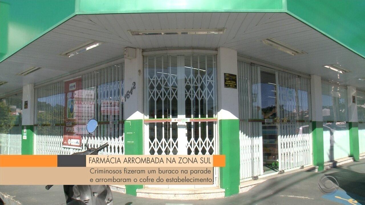 Polícia investiga furto em farmácia na Zona Sul de Joinville