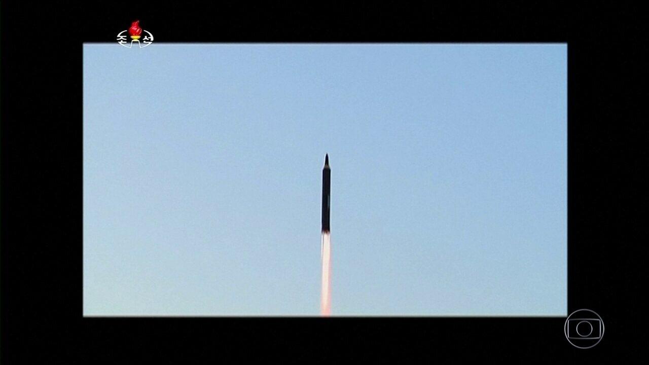 Comunidade internacional condena Coreia do Norte por míssil