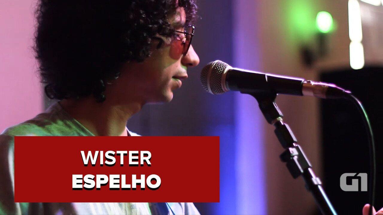 Wister canta 'Espelho', música inédita do disco (C)asa