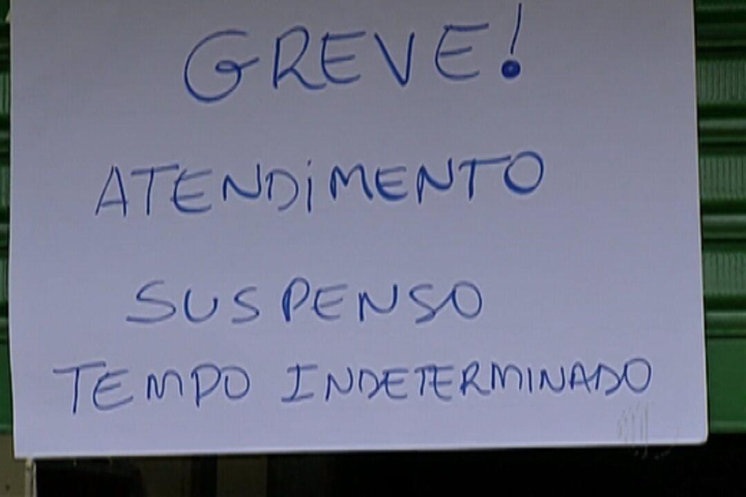 Com greve de servidores, Suzano fica sem atendimento em escolas e postos de saúde