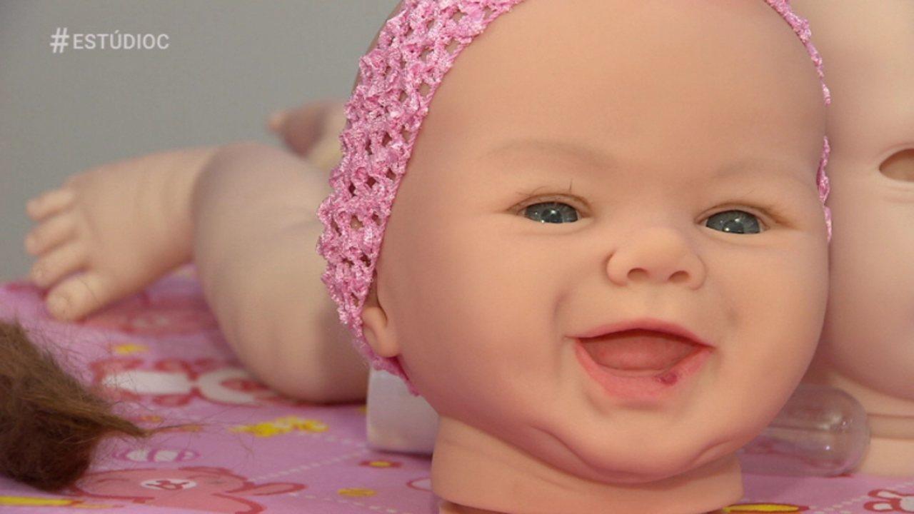 Conheça Sandra Rudnick, a mamãe dos bebês reborn!