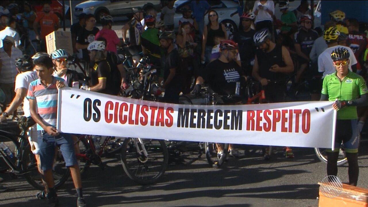 Ciclistas pedem mais segurança para a prática do esporte em Feira de Santana
