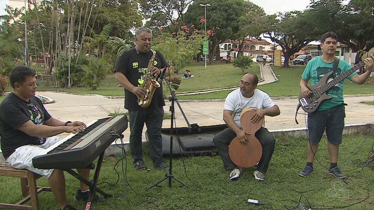 Projeto vai levar apresentações de jazz para praça no Centro de Macapá