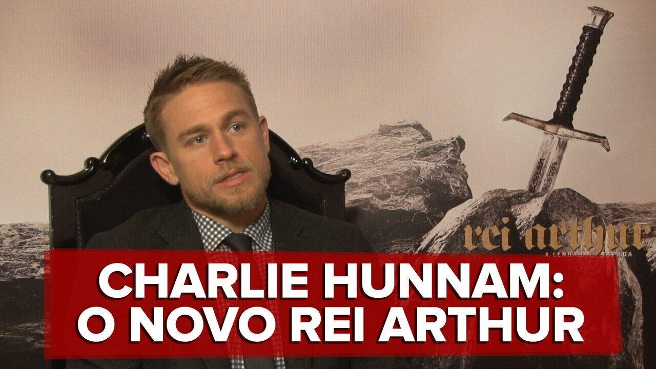 Charlie Hunnam fala ao G1 sobre 'Rei Arthur - A lenda da espada'