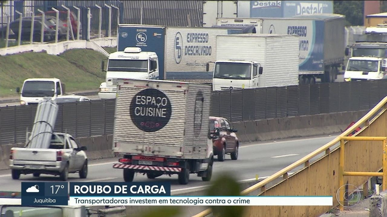 Roubos de carga aumentam no estado e na capital paulista
