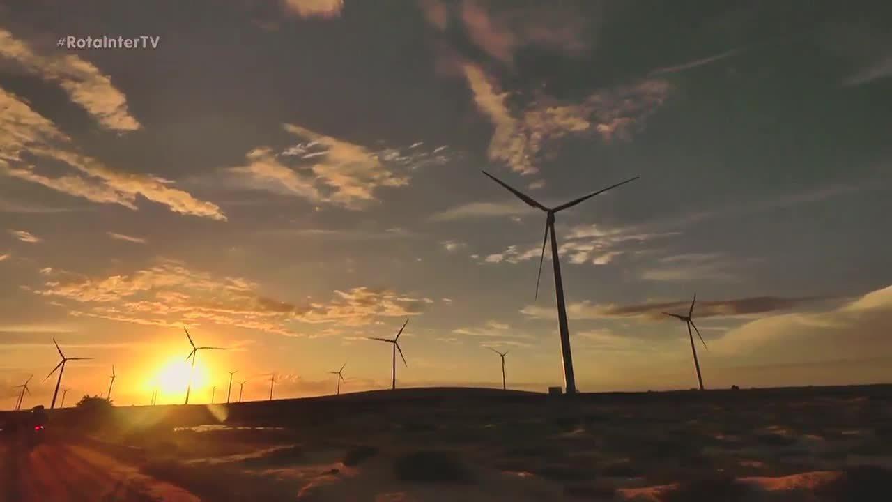 Rota Inter TV realiza aventura em parque eólico em Caiçara do Norte