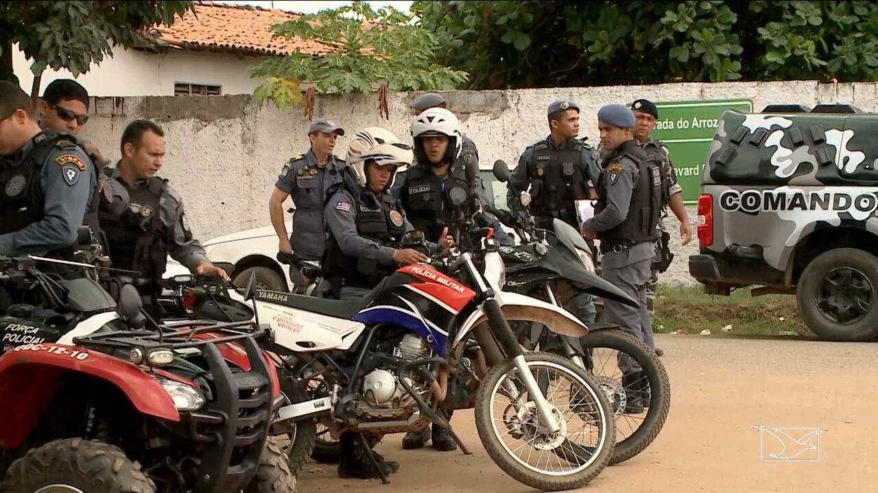 Operação policial realiza combate à violência e o tráfico de drogas no MA