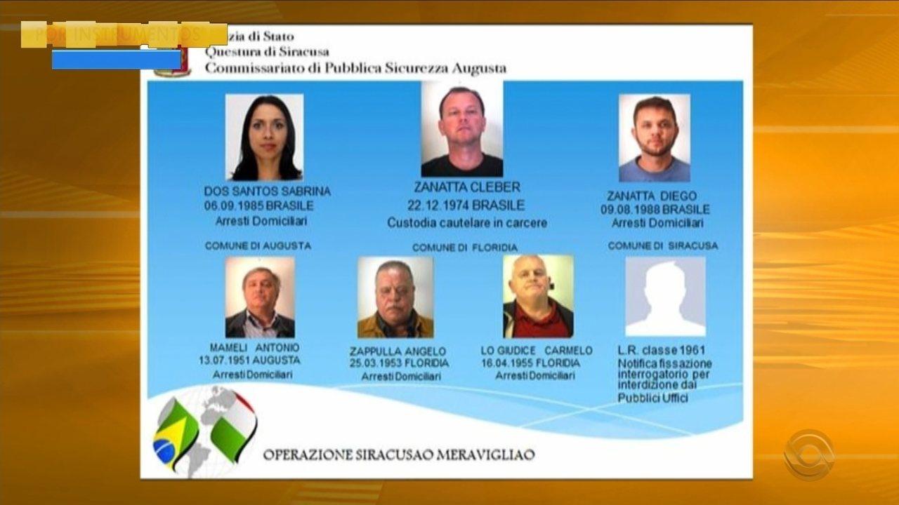 Catarinenses são presos na Itália acusados de esquema de cidadania ilegal