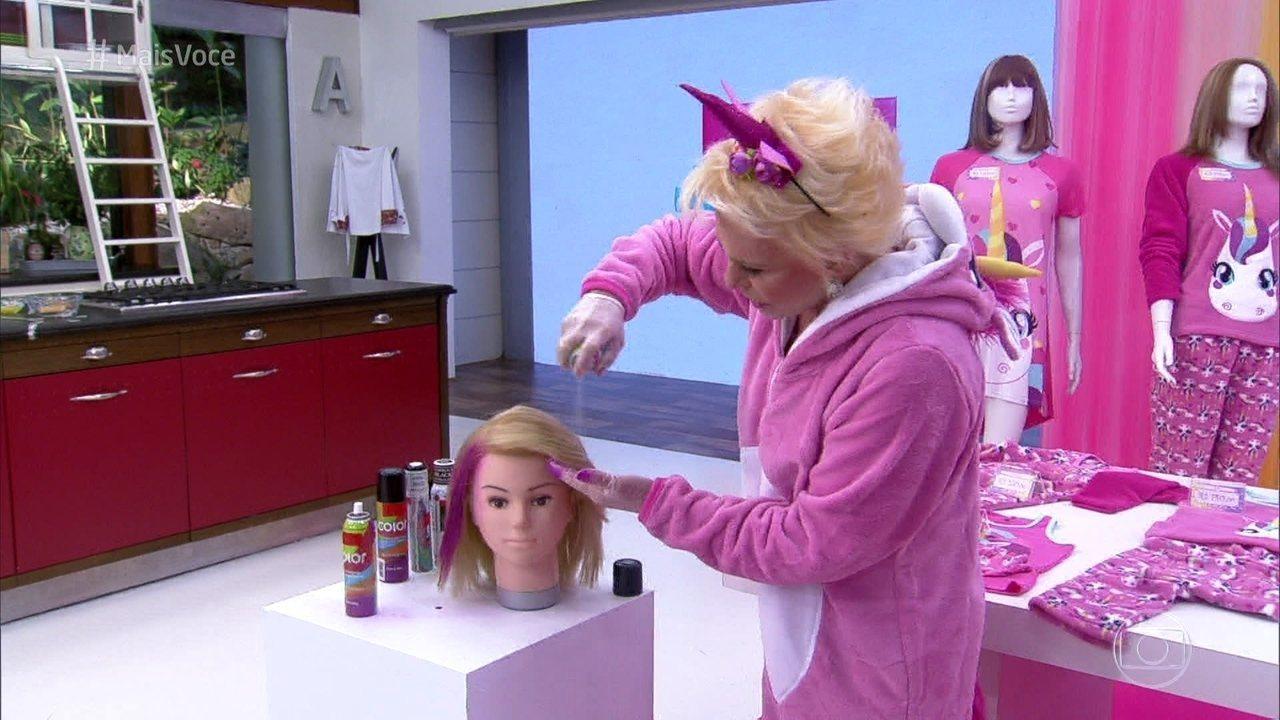 Ana Maria dá dicas de moda e cabelos para você que quer aderir à moda do unicórnio