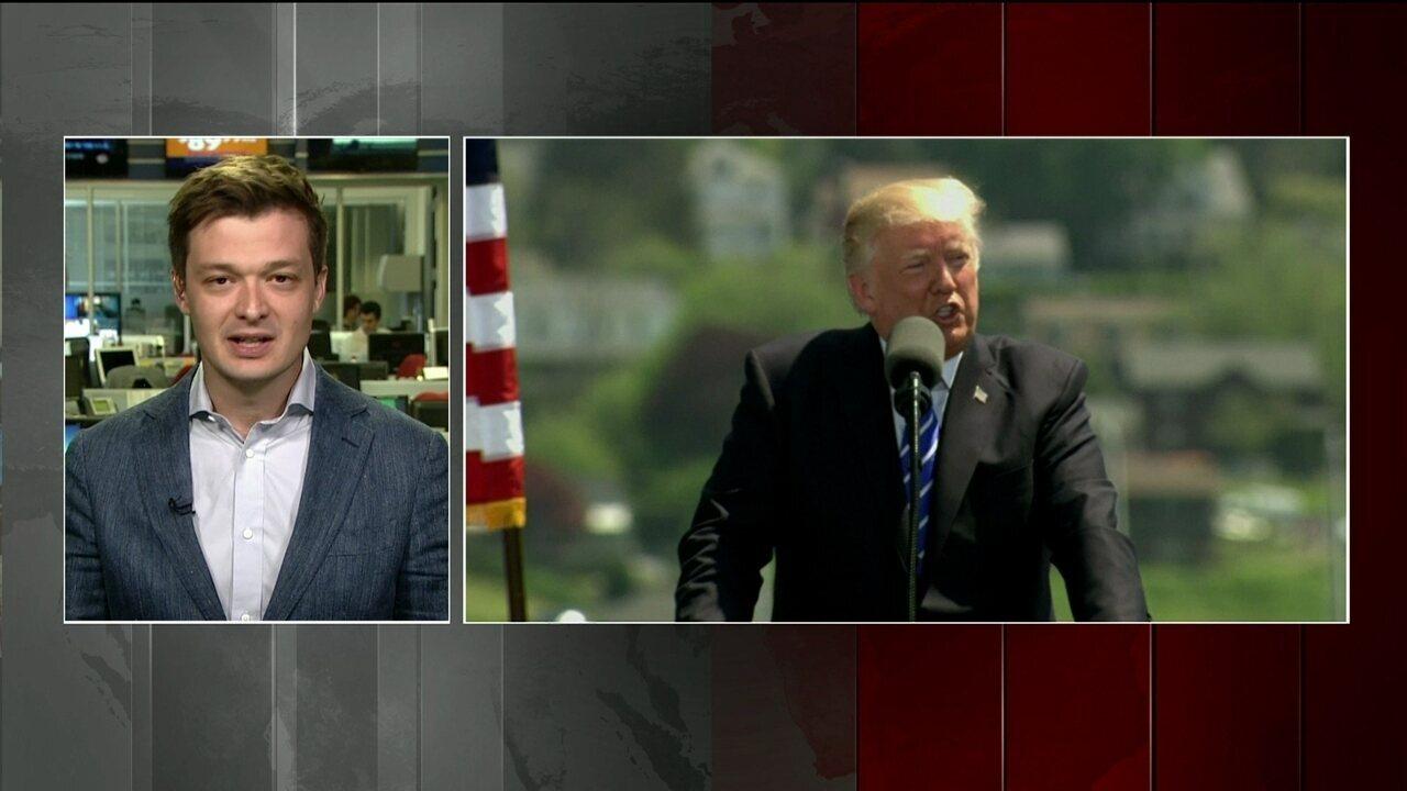 Trump vai ao Oriente Médio em sua primeira viagem internacional desde que assumiu governo