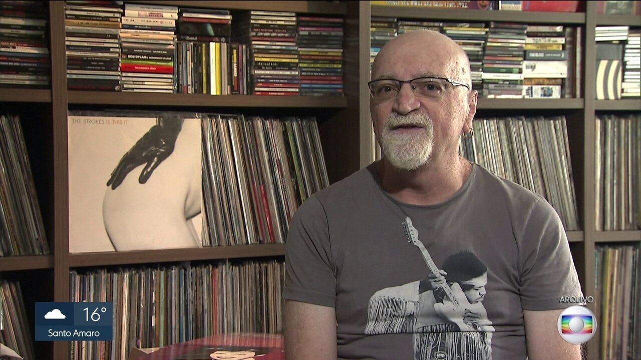 Cantor, compositor e jornalista Kid Vinil morre aos 62 anos