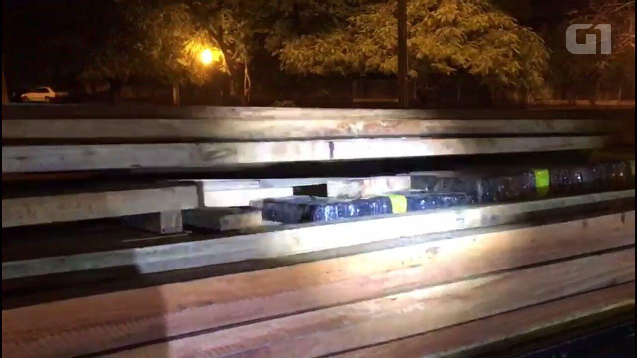 Polícia apreende 7,2 toneladas de maconha no norte do Paraná
