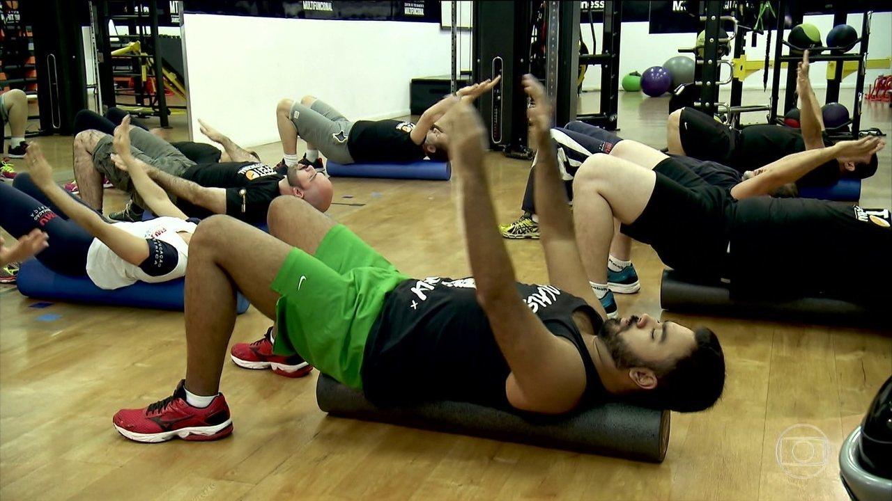 Pesquisa mostra que 9 minutos de ginástica ajuda a combater o sedentarismo