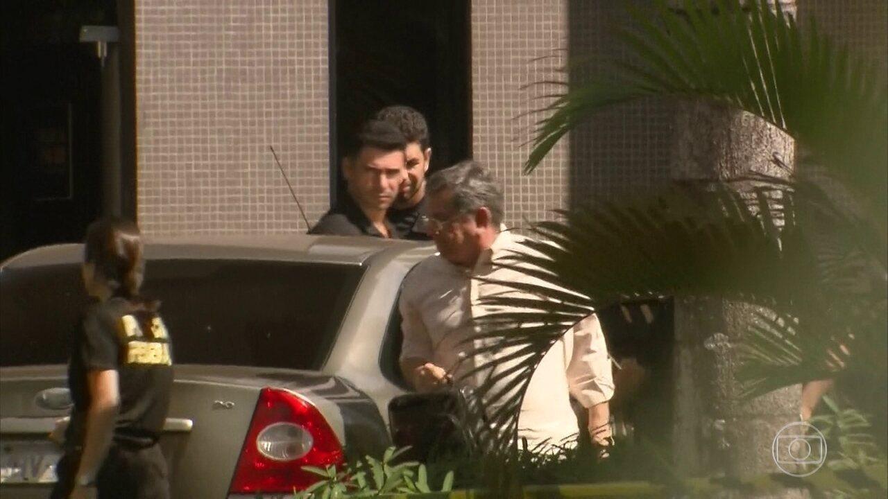 Assessor do presidente, Tadeu Filippelli, e dois ex-governadores do DF são presos