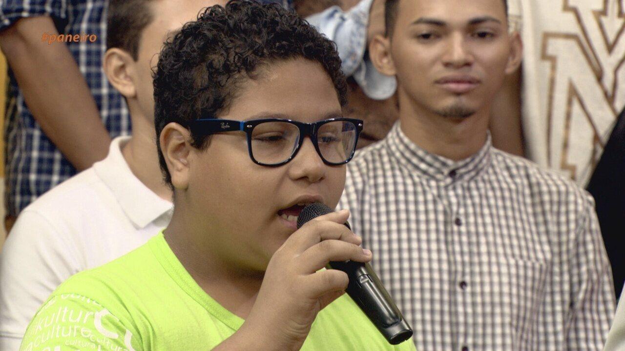 Programa recebe duas crianças que fazem parte do Festival Amazonas de Ópera