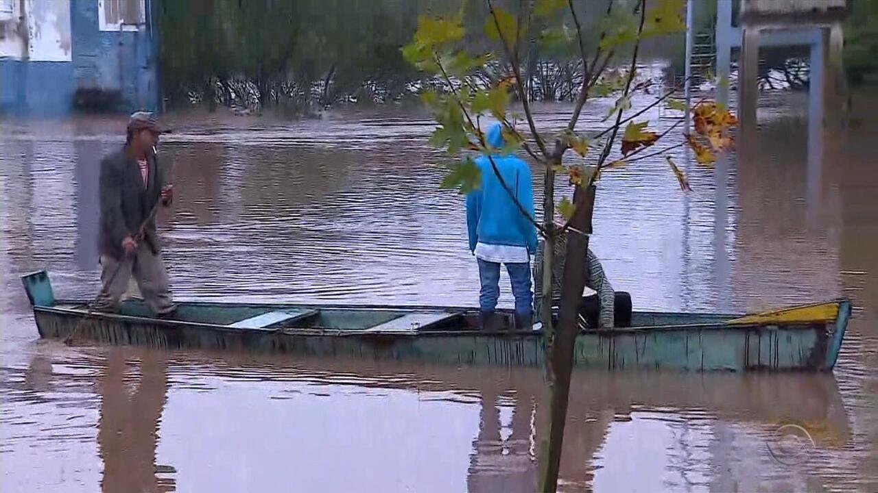 Nível do rio de São Sebastião do Caí passa dos 11 metros e preocupa Defesa Civil