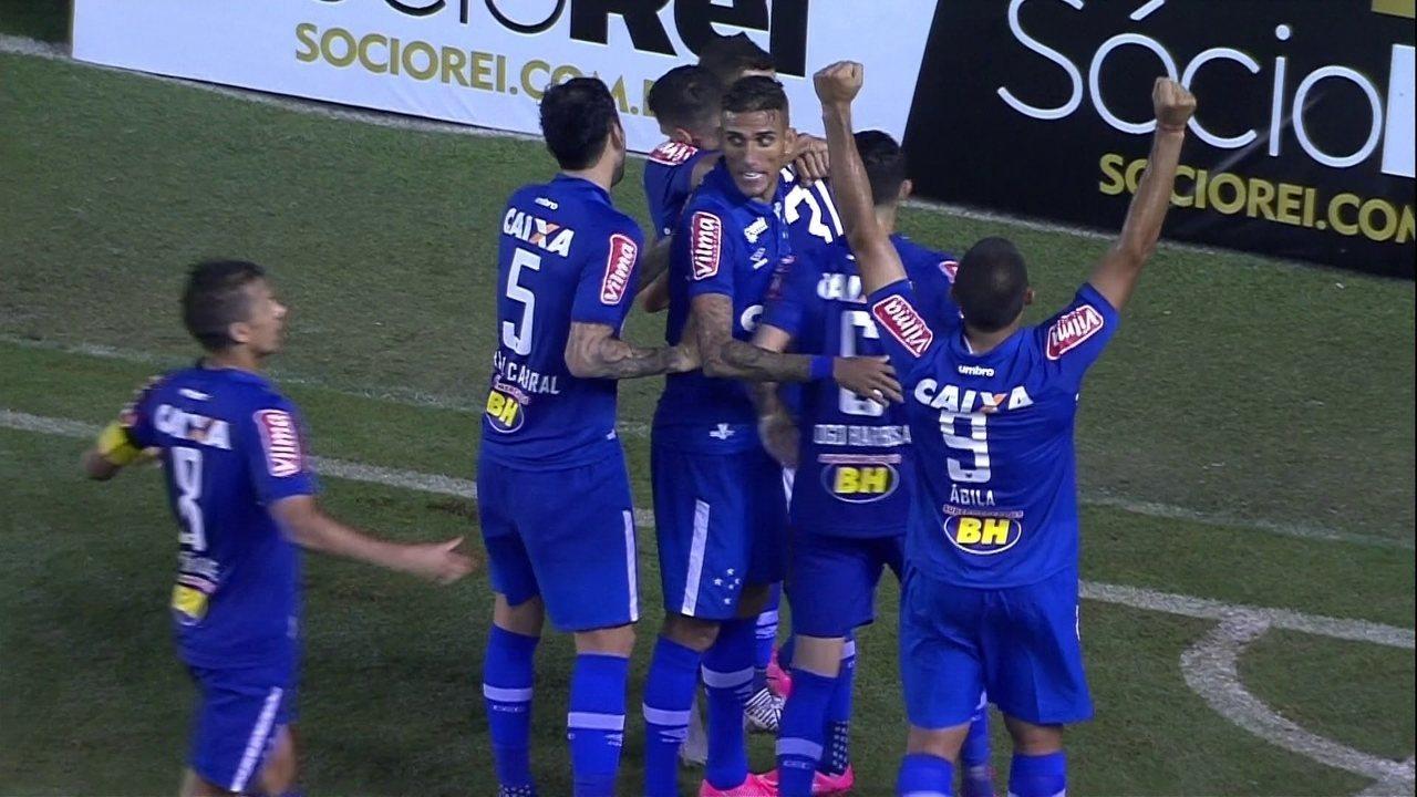 Melhores momentos  Santos 0 x 1 Cruzeiro pela 3ª rodada do Campeonato  Brasileiro 4c5f7f33a9117