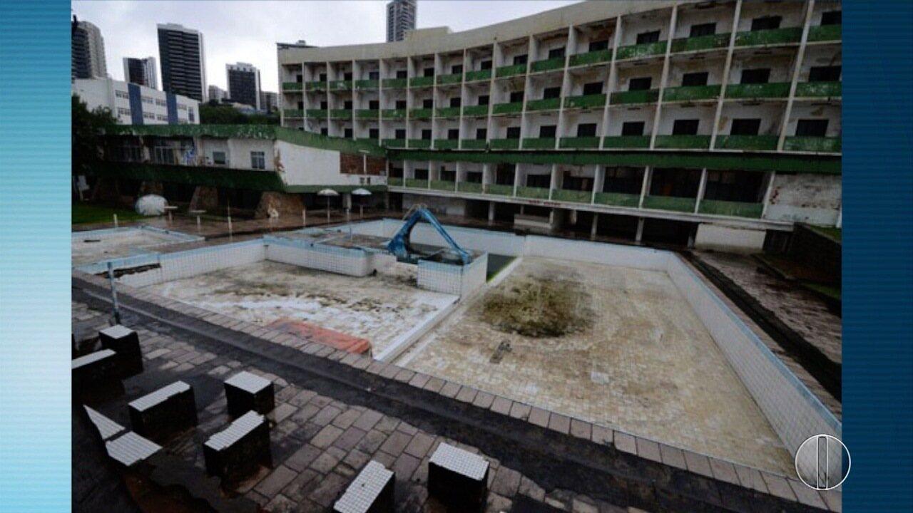 IPHAM desiste de tentar impedir demolição do antigo Hotel Reis Magos, em Natal