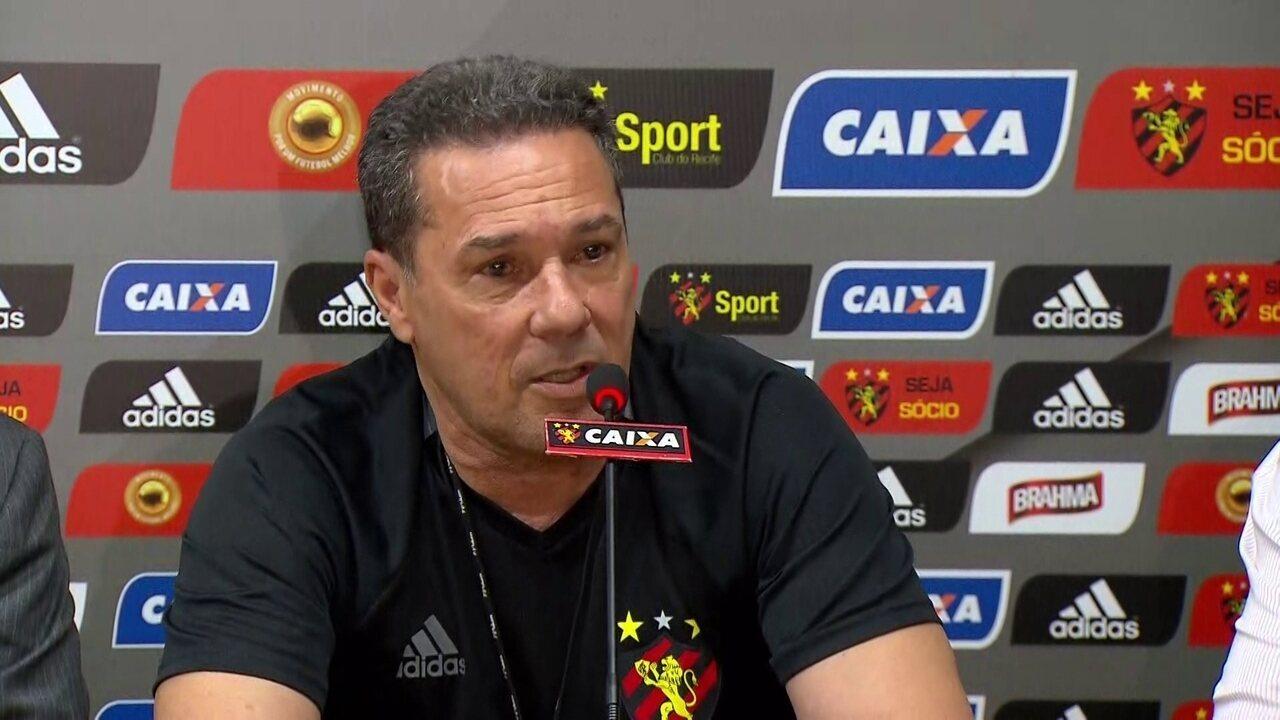 Luxemburgo garante presença no campo contra o Botafogo e convoca torcida do Sport