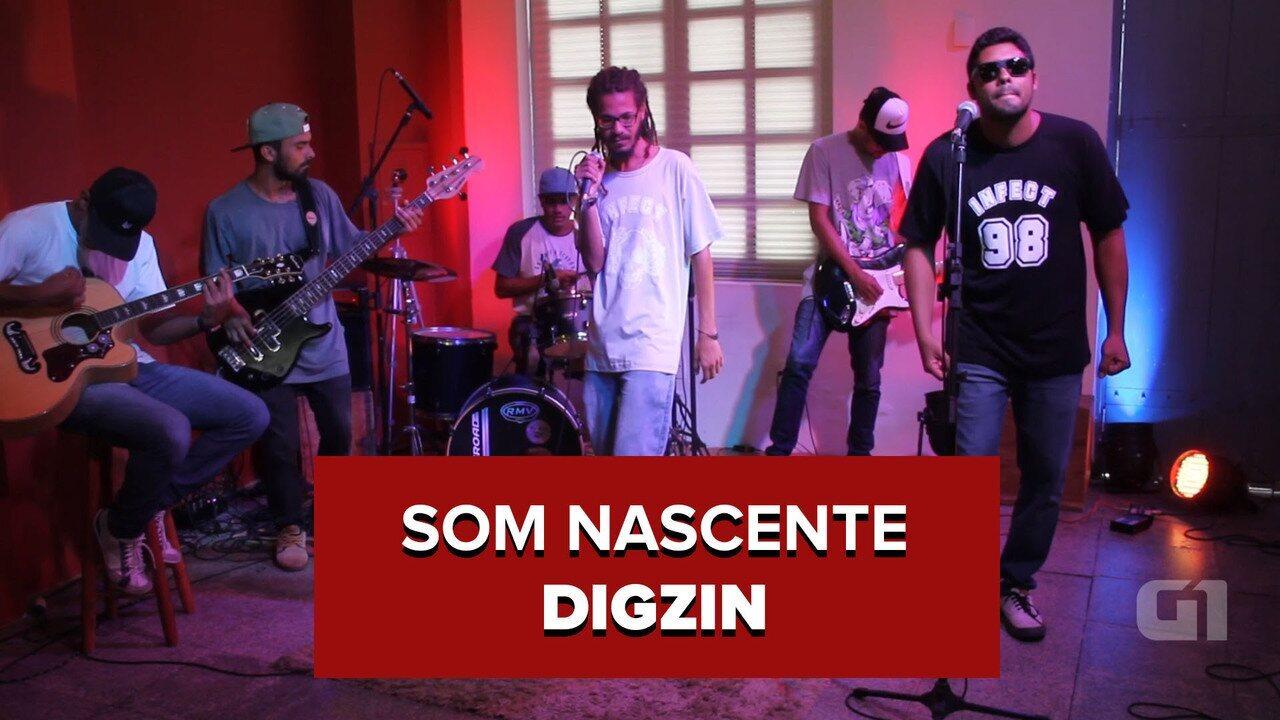 Banda DigZin mostra no programa Som Nascente o reggae de Cabedelo, na Paraíba