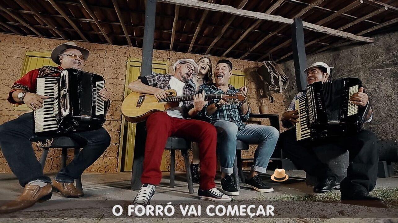 Artistas sergipanos interpretam música do cantor Rogério na campanha junina da TV Sergipe