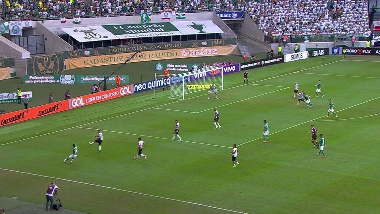 Melhores momentos de Palmeiras 0 x 0 Atlético-MG pela 4ª rodada do Campeonato Brasileiro
