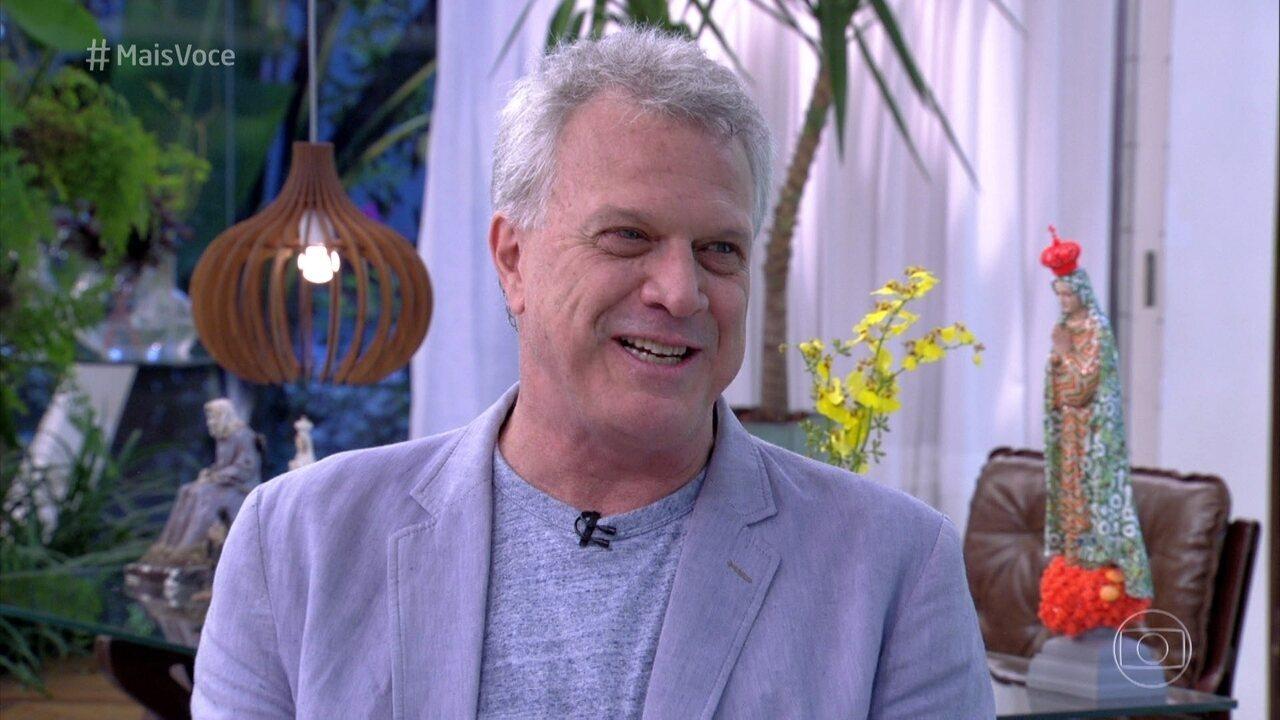 Pedro Bial conta que a filha se chamará Laura