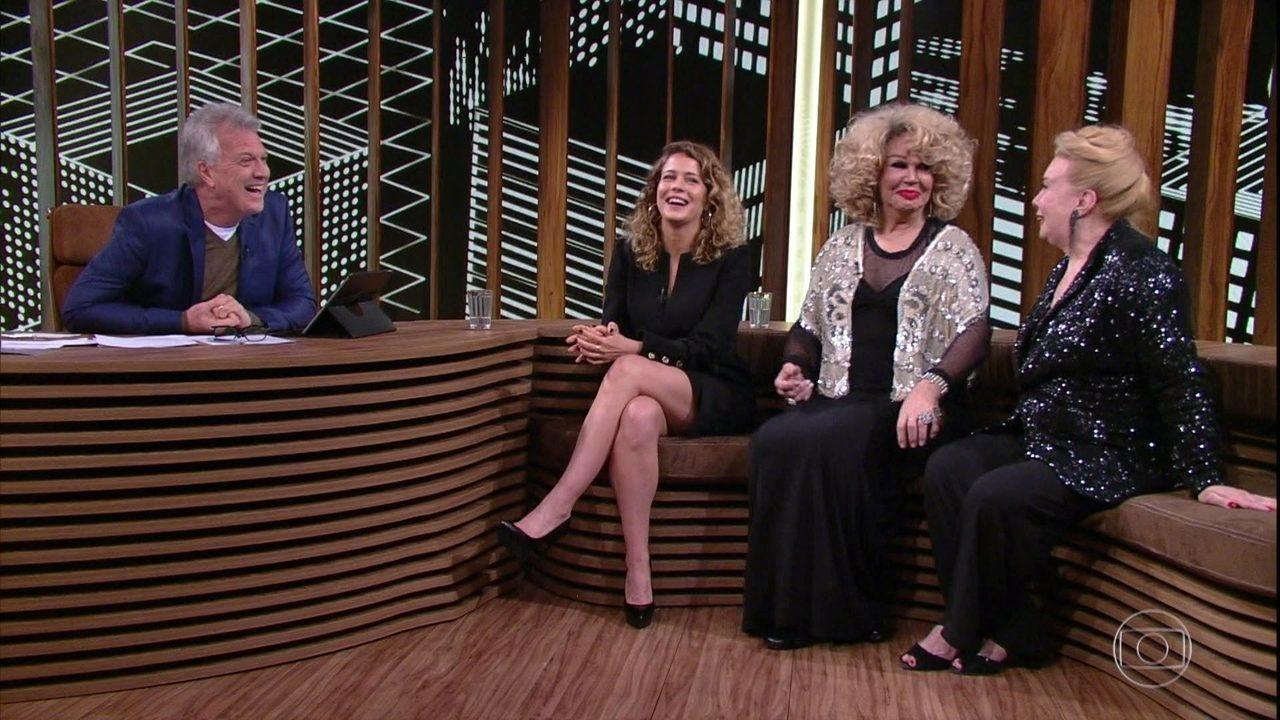 Leandra Leal, Jane Di Castro e Rogéria relembraram histórias do Teatro Rival