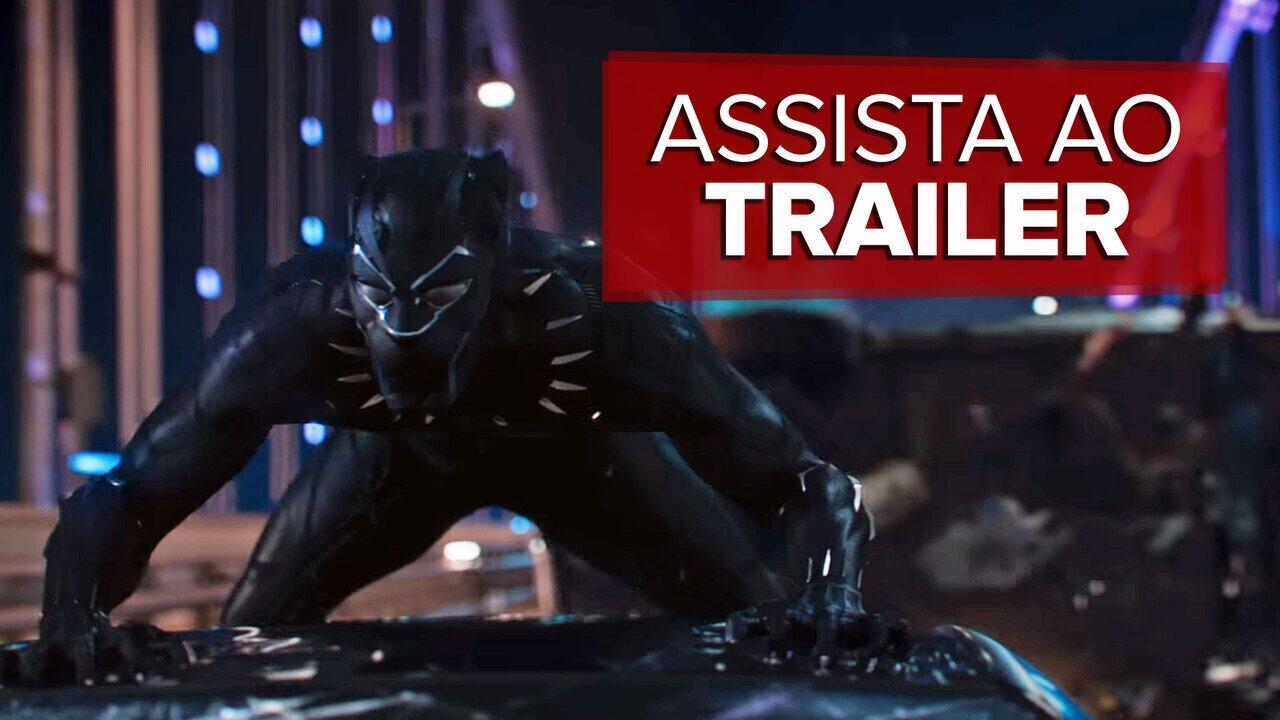 Marvel lança primeiro trailer do filme do 'Pantera Negra'