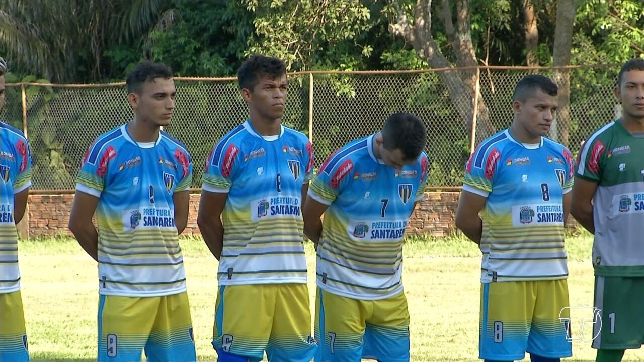 Em Santarém, a seleção local recebeu o time de Traitão. Confira.