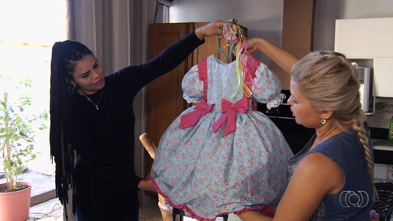 Vestido de festa junina goiania
