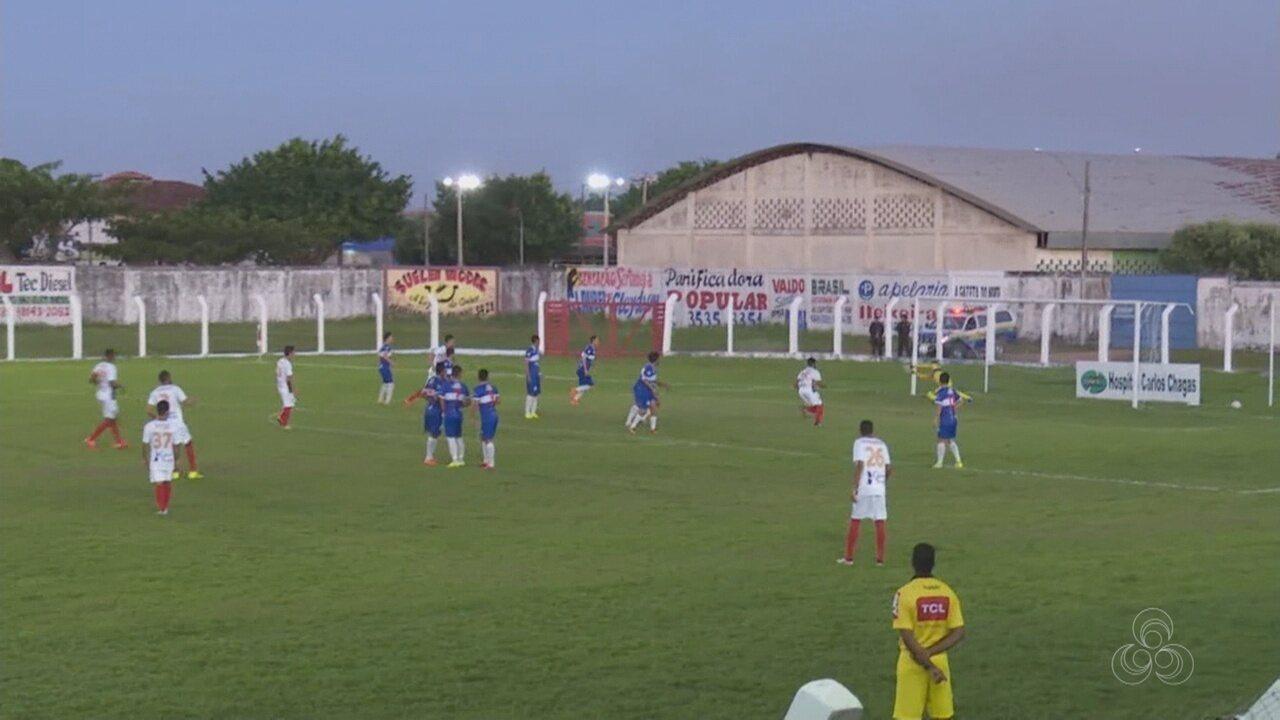 Atético-AC empata com Real Desportivo-RO e mantém liderança do grupo 1 da Série D