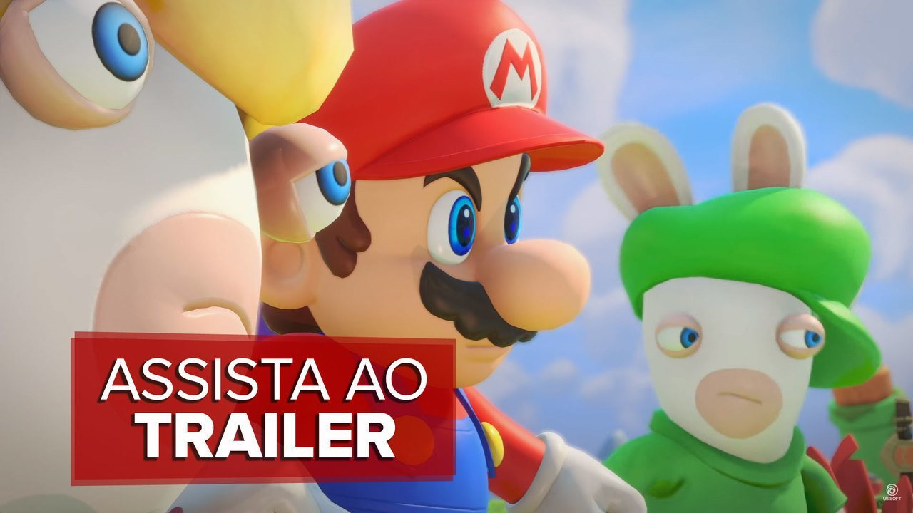 E3 2017: 'Mario + Rabbids Kingdom Battle' ganha trailer da Ubisoft
