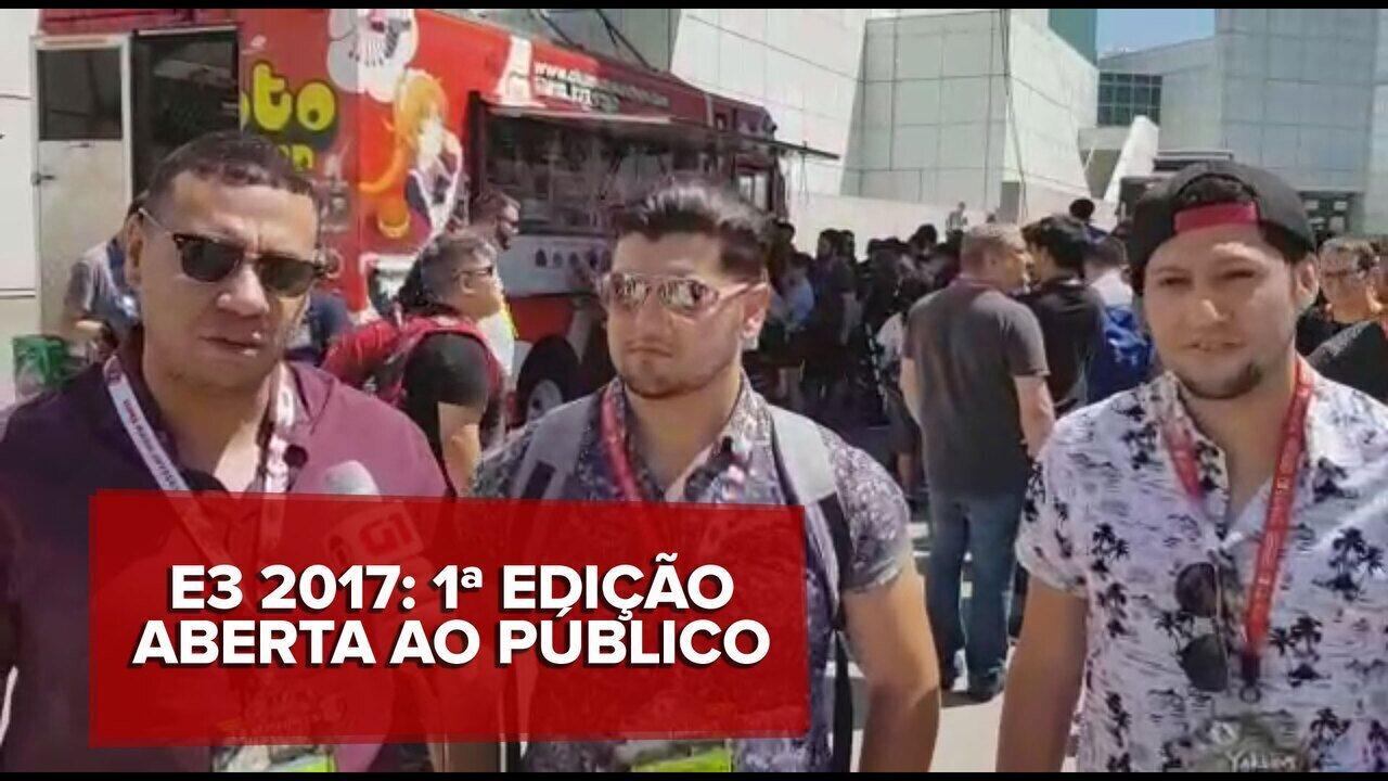 E3 2017: Brasileiros comentam a primeira edição do evento aberta ao público