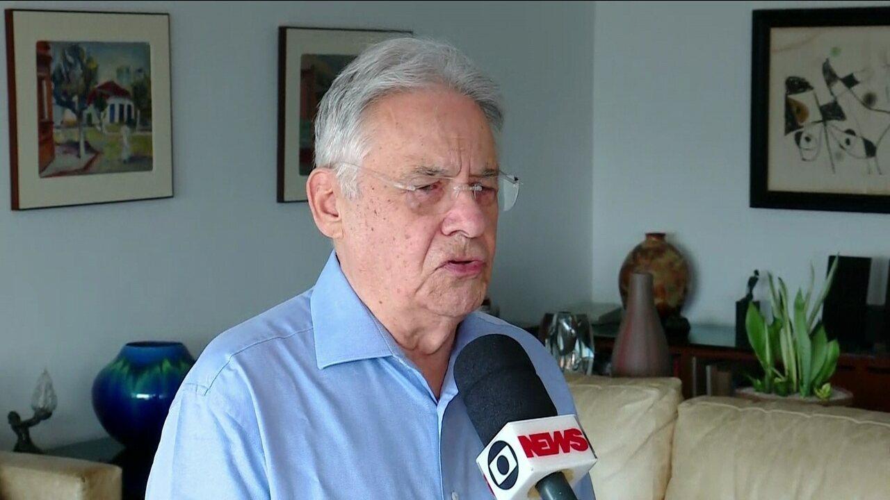 """""""Moreno era um ser peculiar"""", afirma o ex-presidente Fernando Henrique Cardoso"""