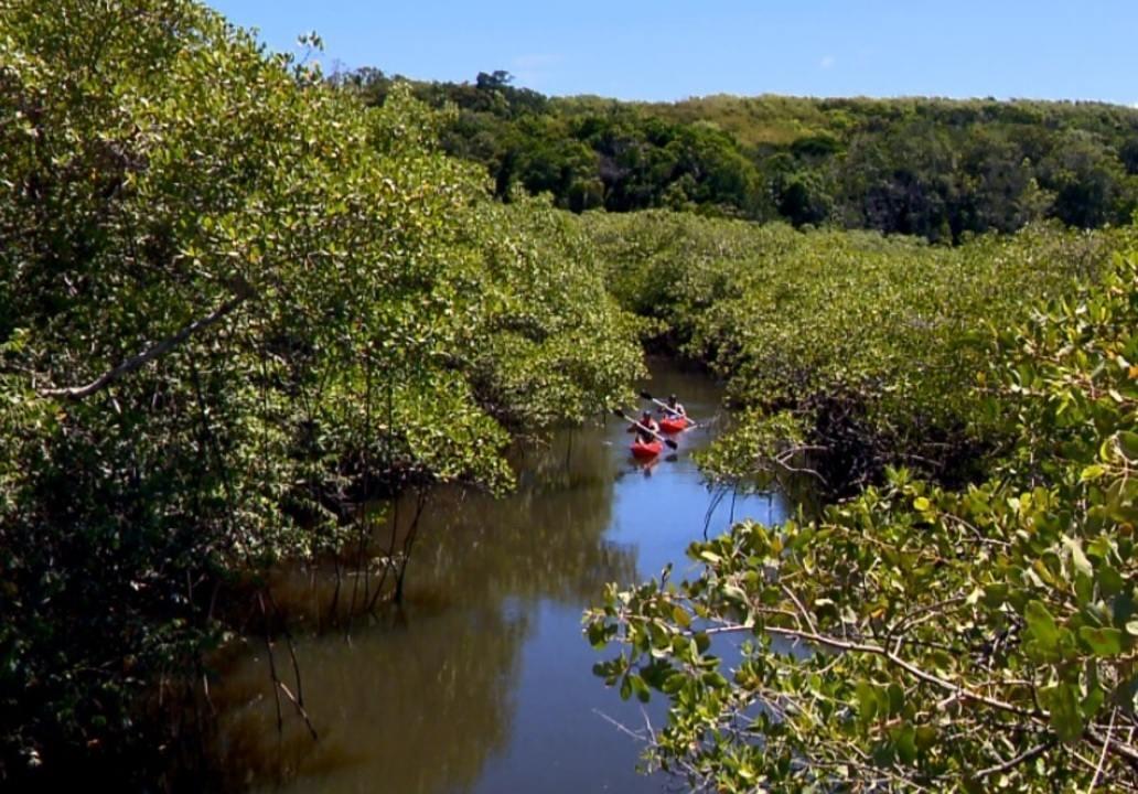 Equipe do TG navega pelas águas do primeiro rio a receber o nome no Brasil