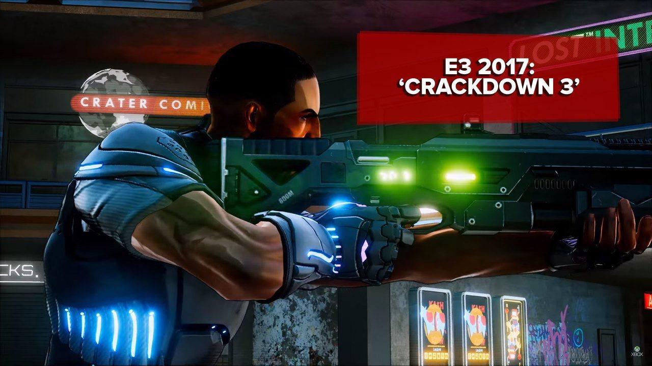 E3 2017: 'Crackdown 3' faz bom uso do 4K mesmo com visual cartunesco