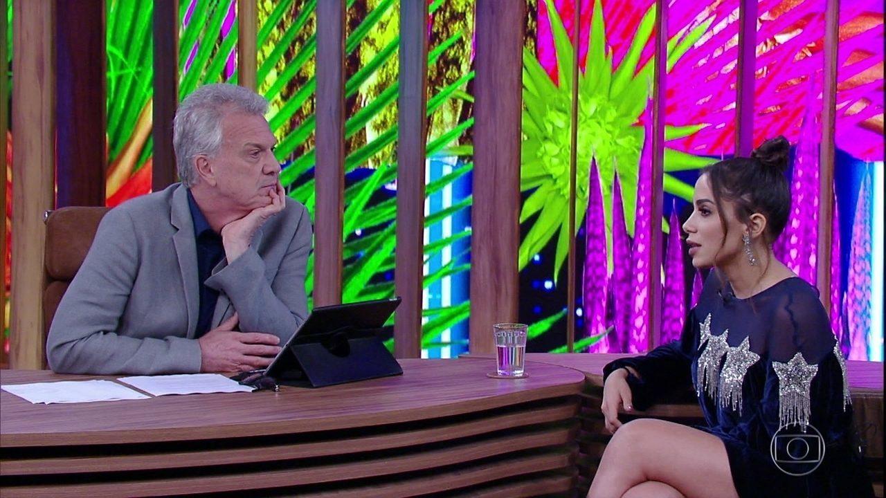 Anitta fala sobre parceria com outros artistas